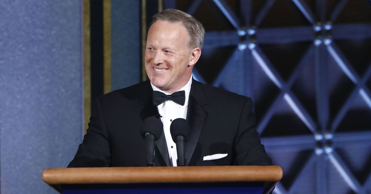 Why Stephen Colbert Invited Sean Spicer to the Emmys