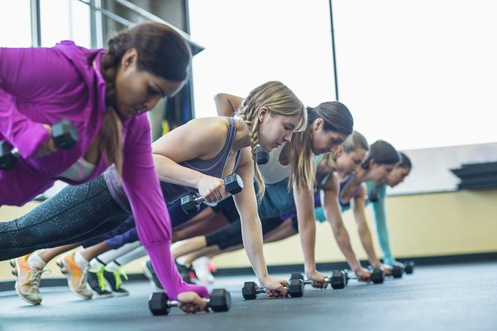 Get acquainted with some dumbbells.
