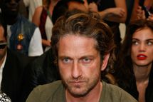 NEW YORK, NY - SEPTEMBER 13:  Gerard Butler attends the Diesel Black Gold Spring 2012 fashion show during Mercedes-Benz Fashion Week at Pier 94 on September 13, 2011 in New York City.  (Photo by Andy Kropa/Getty Images)