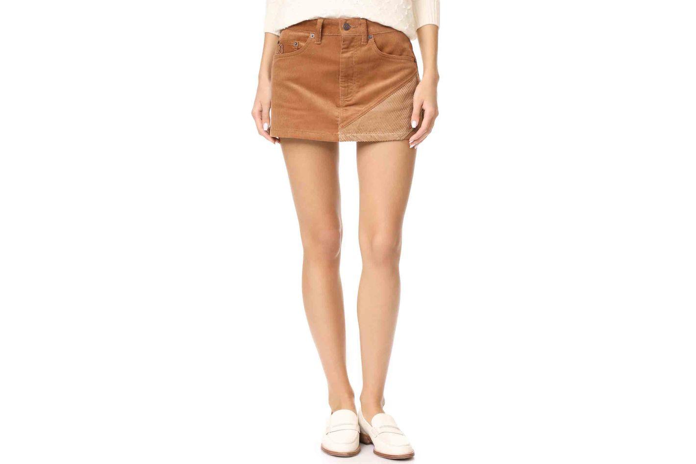 Marc Jacobs Combo Mini Skirt