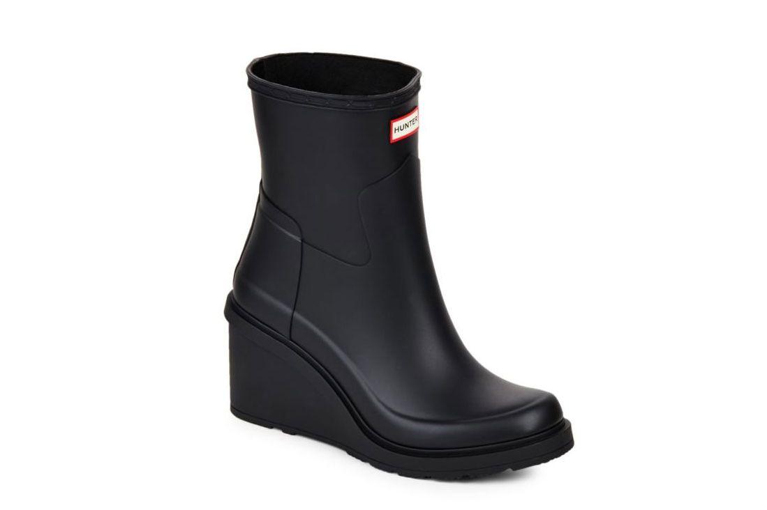 Hunter Original Refined Wedge Rain Boots