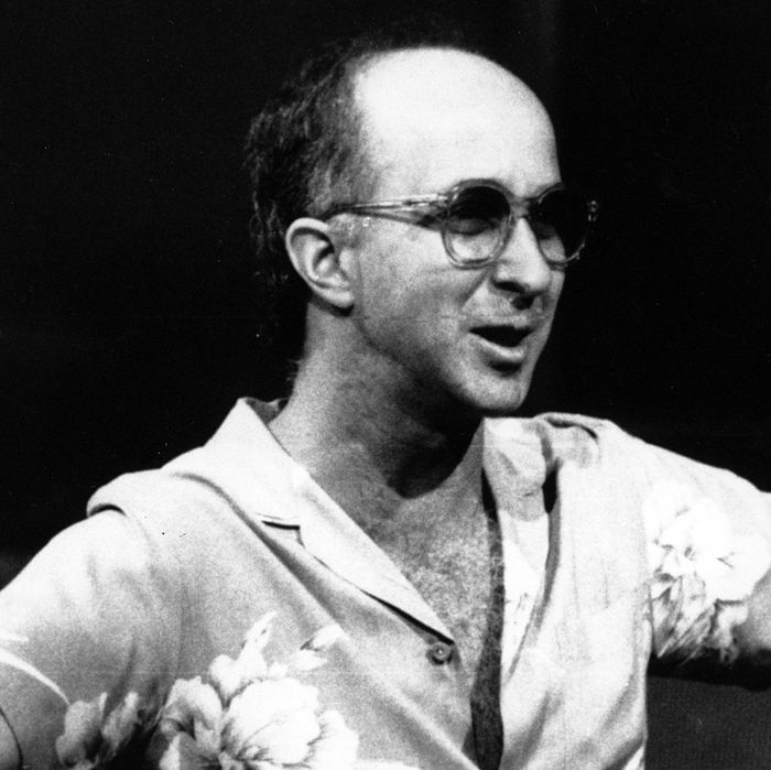FILE - In this July 28, 1986 file photo, bandleader Paul Shaffer directs his band during a rehearsal for