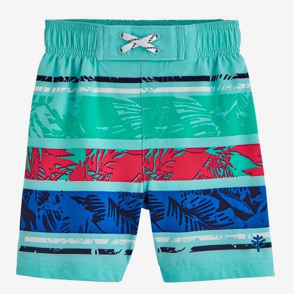 Coolibar UPF 50+ Baby Boys' Island Swim Trunks