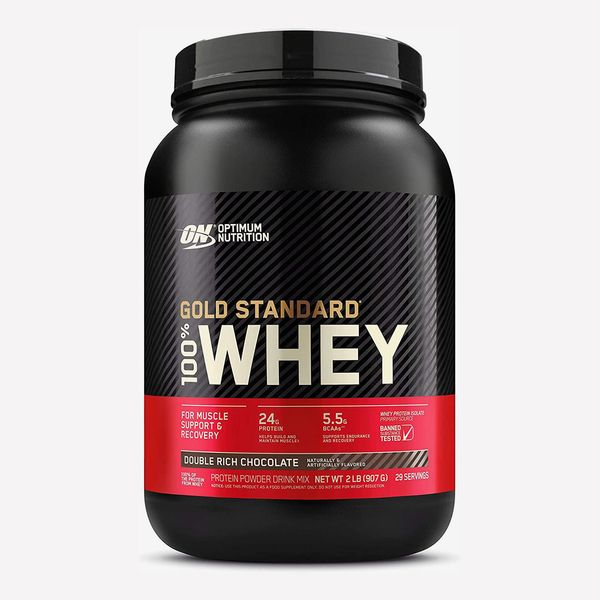Optimum Nutrition Gold Standard Whey, Double Rich Chocolate, 2 lb.