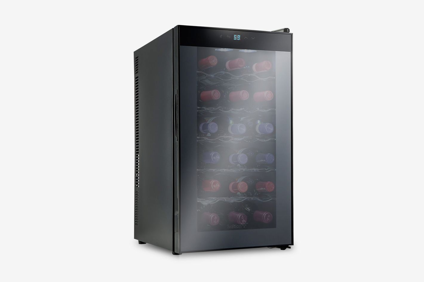 Ivation 18-Bottle Thermoelectric Red and White Wine Cooler