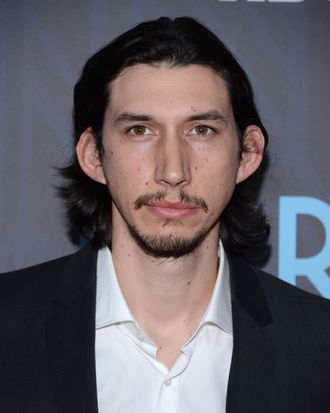 Adam Driver attends the Premiere Of