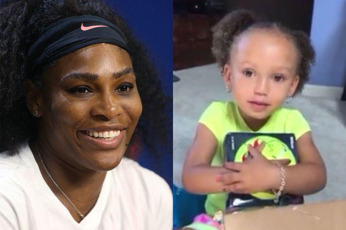 Serena Williams; Mykal-Michelle Harris.