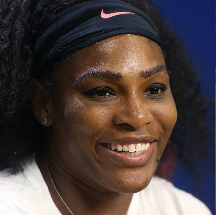 Serena Williams; Mykal-Michelle Harris.