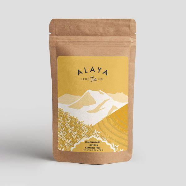 Alaya Lemongrass + Ginger Tea (2.5 Ounces)
