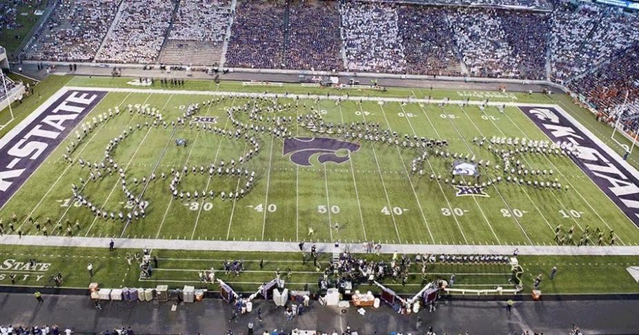 Kansas state university marching band accidentally performs sex scene malvernweather Images