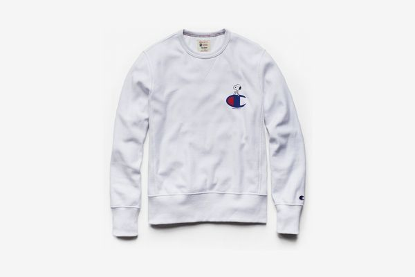 Champion x Peanuts Snoopy Sweater in White