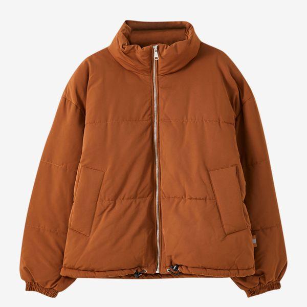 Pull & Bear Padded Puffer Jacket