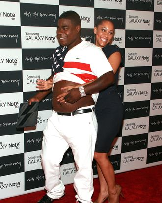 Tracy Morgan, Megan Wollover - Samsung