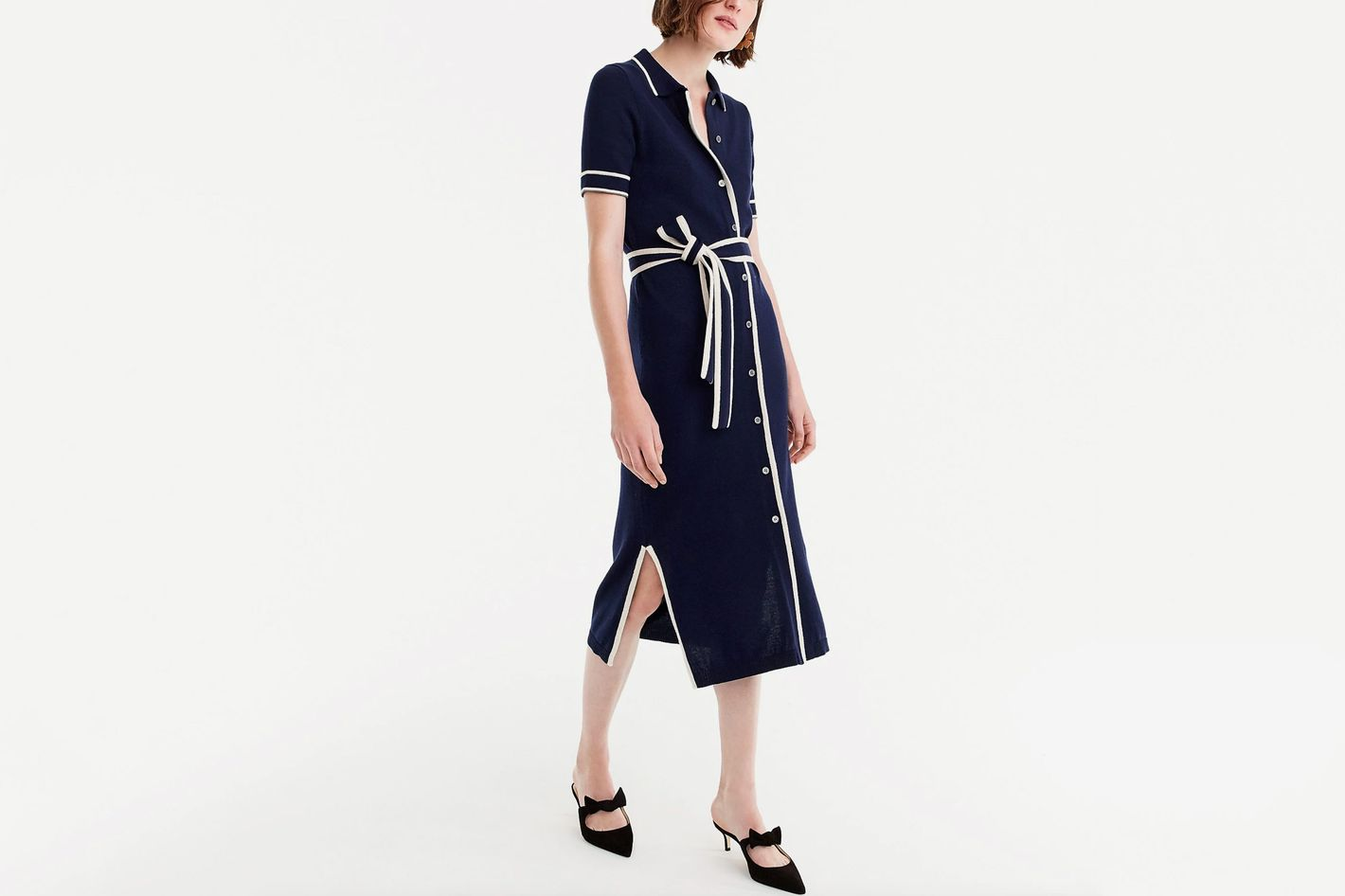J.Crew Belted Shirtdress