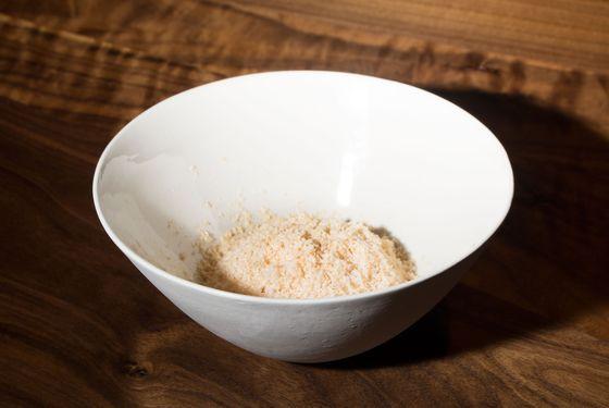 Foie gras — lychee, pine nut, Riesling jelly.