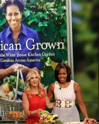 THE VIEW - First Lady Michelle Obama sits down with