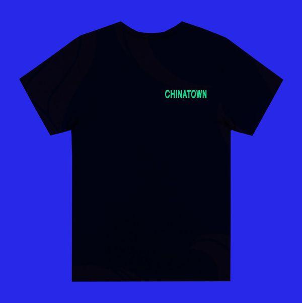 Chinatown Dragon Black Short-Sleeved T-Shirt