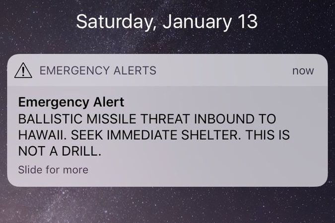 Image result for hawaii false alarm