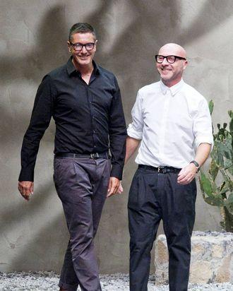 Dolce and Gabbana.