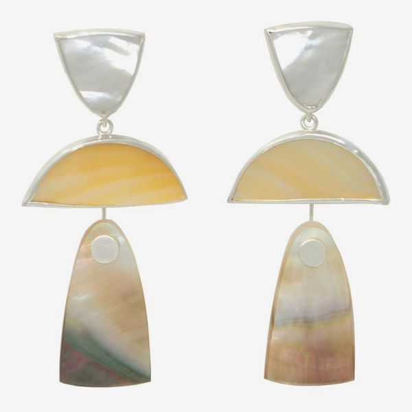 Octave Jewelry Trio Drops in Mother of Pearl Mix