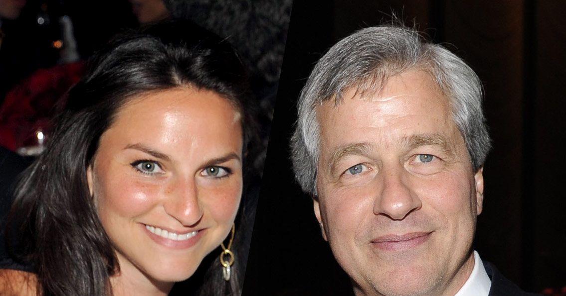 Photo of Jamie Dimon & his  Daughter  Julia Dimon