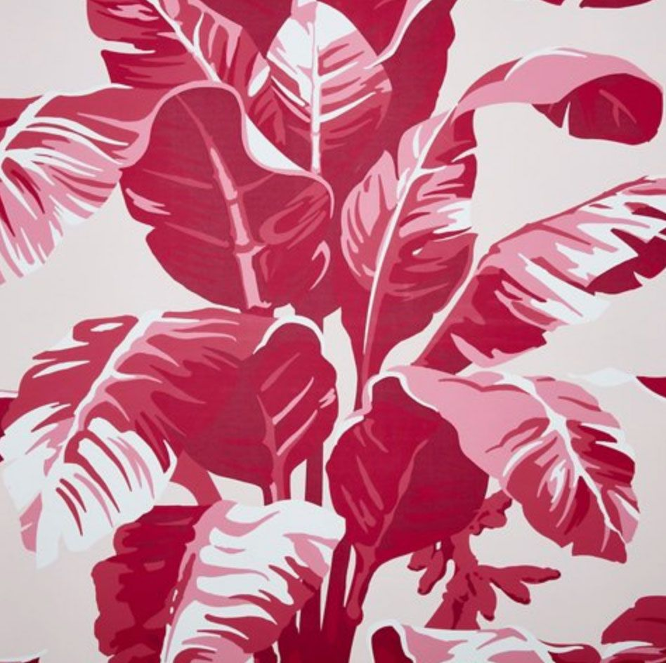 Nathan Turner Electric Palm Wallpaper, Pink