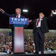 USA - Politics - Donald Trump Campaigns in Myrtle Beach