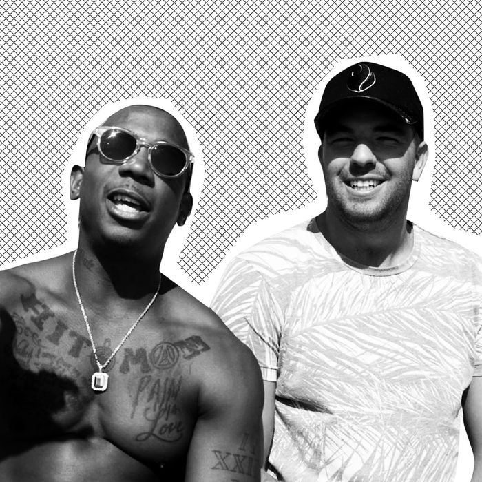 Ja Rule and Billy McFarland.