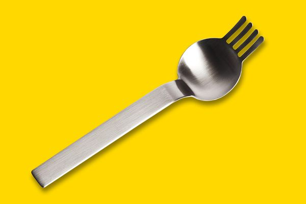 Ramen Spoon and Fork