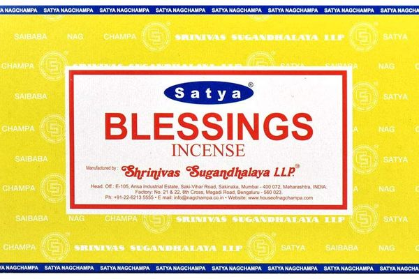 Satya Nag Champa Blessings Incense Sticks