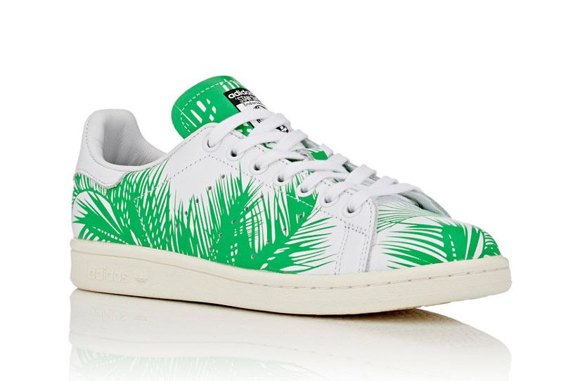 Adidas Men's Stan Smith Palm Tree Sneakers