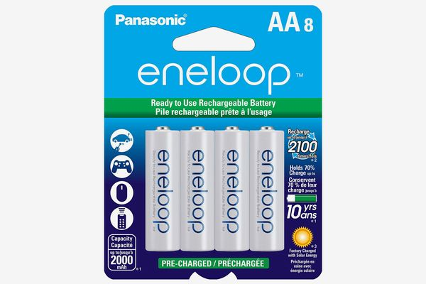 Panasonic Eneloop AA Pre-Charged Rechargeable Batteries (8-Pack)