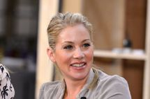 """Actress Christina Applegate attends NBCUniversal's """"Up All Night"""" TCA set visit at CBS Studios - Radford on July 31, 2012 in Studio City, California."""