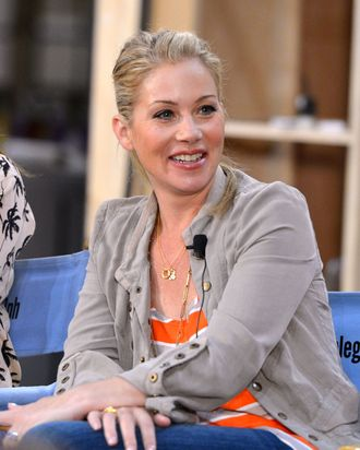 Actress Christina Applegate attends NBCUniversal's