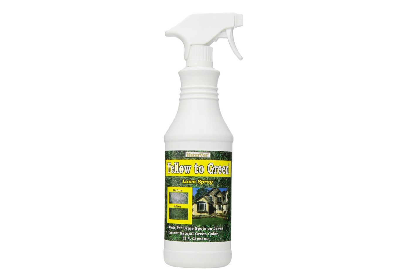 NaturVet Yellow to Green Lawn Pet Spot Remover Spray