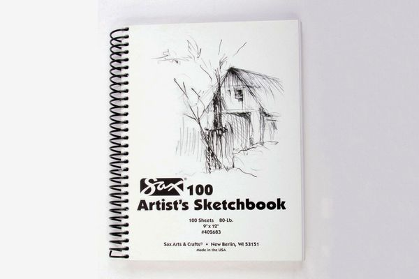 Sax Artists Spiral Bound Sulphite Sketchbook