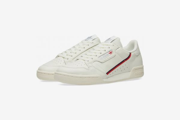 Adidas Continental 80 Off-White and Scarlet