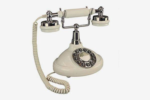 Design Toscano Brittany Neophone 1929 Rotary Corded Retro Phone