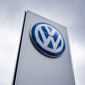 A Volkswagen dealer in Berlin on September 22, 2015.