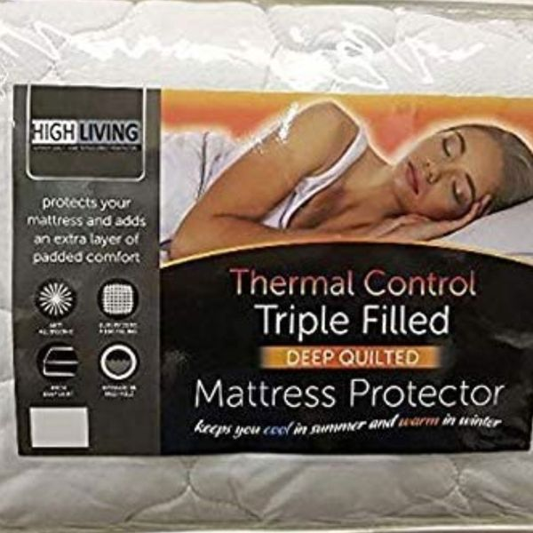 Highliving ® Quilted Mattress Protector Cover