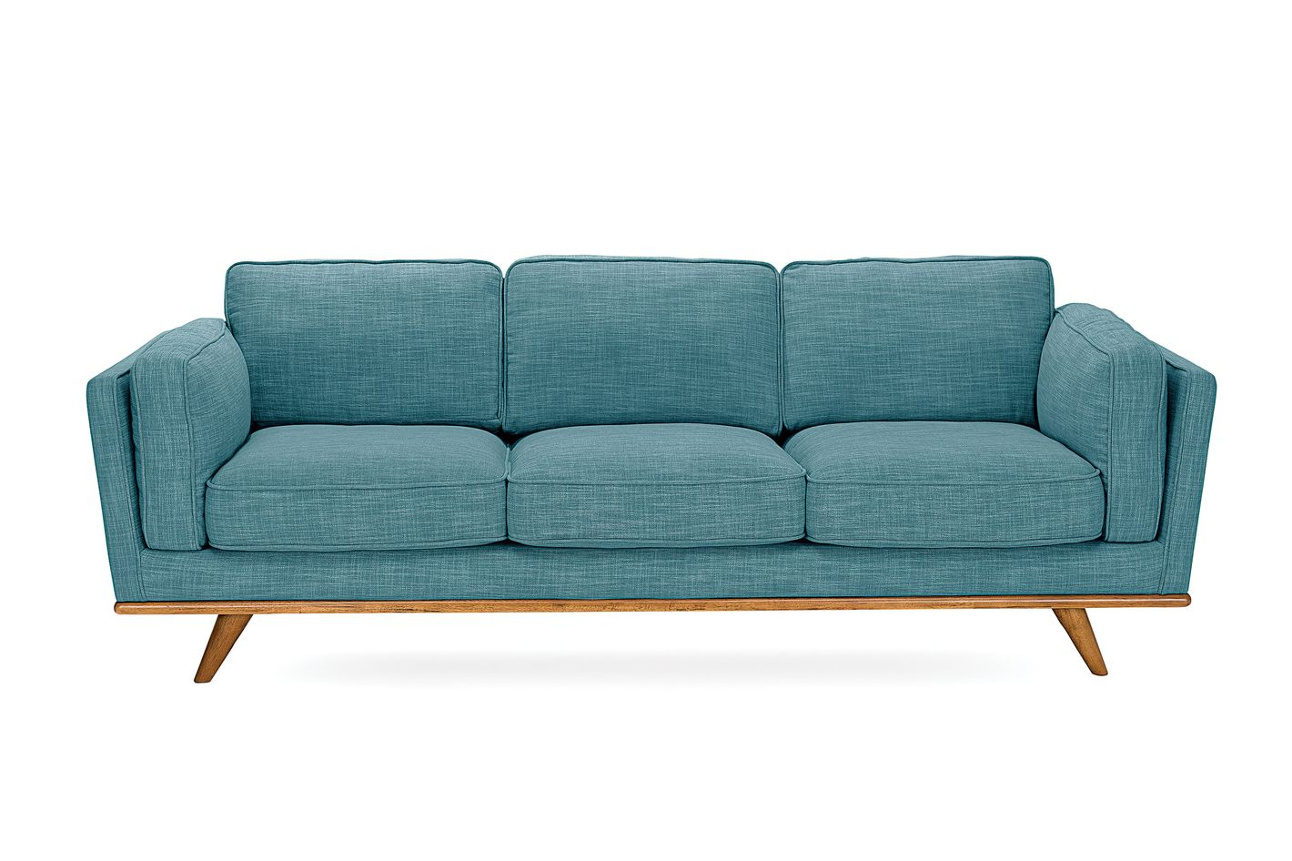 2. Article. Article Timber Sofa