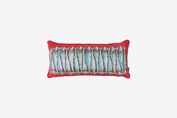 Fornasetti Sardine Pillow