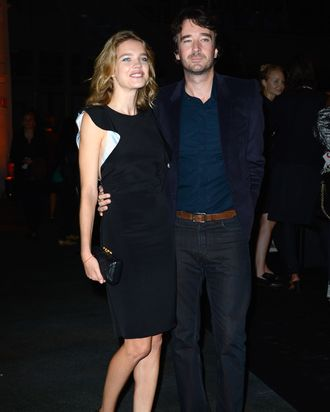 Natalia Vodianova and Antoine Arnault.