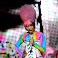 LOS ANGELES, CA - APRIL 22:  Rapper Nicki Minaj performs at the Staples Center on April 22, 2011 in Los Angeles, California.  (Photo by Kevin Winter/Getty Images) *** Local Caption *** Nicki Minaj;