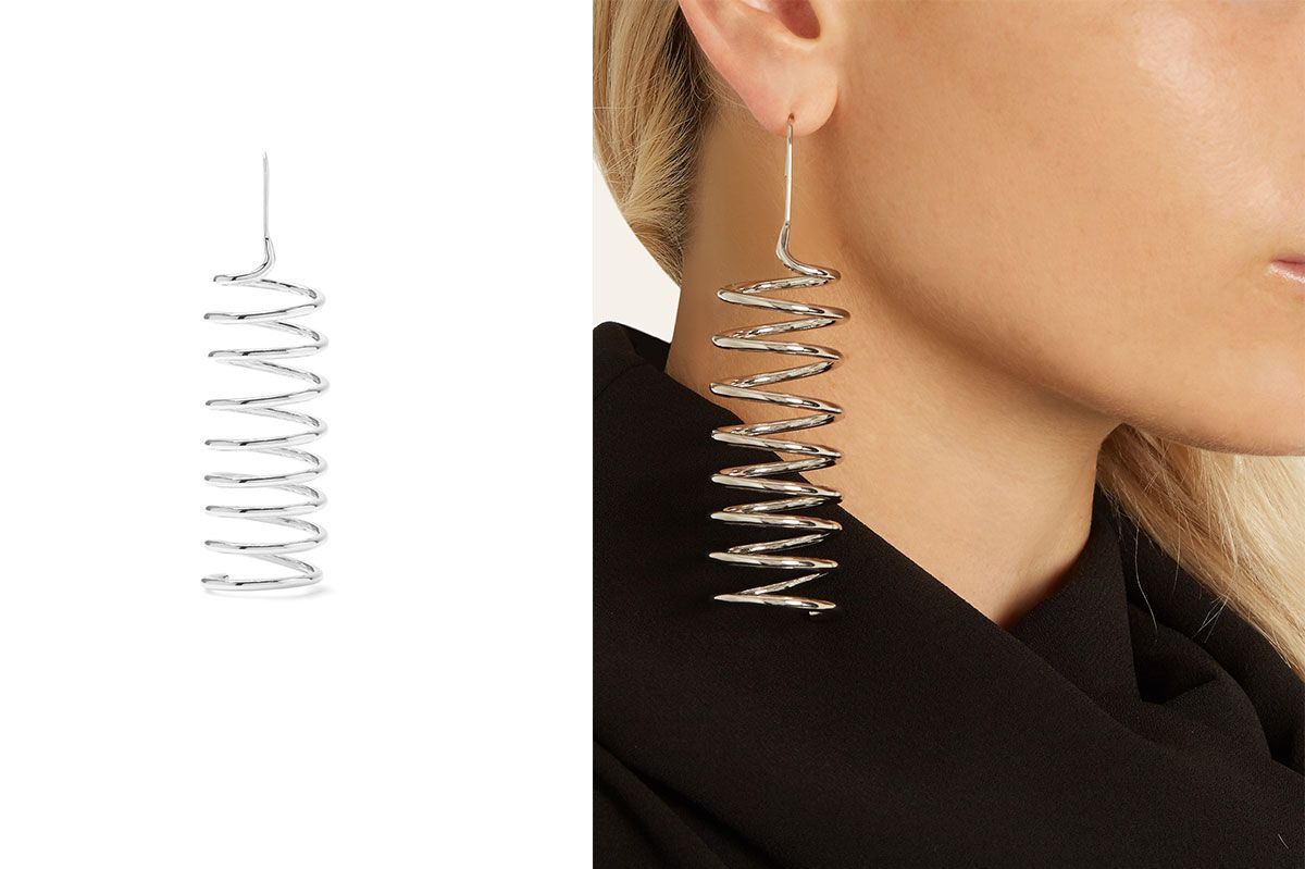 Maison Margiela Spiral-Shaped Earring