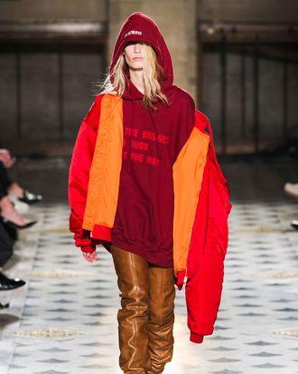Vetements at Paris Fashion Week.