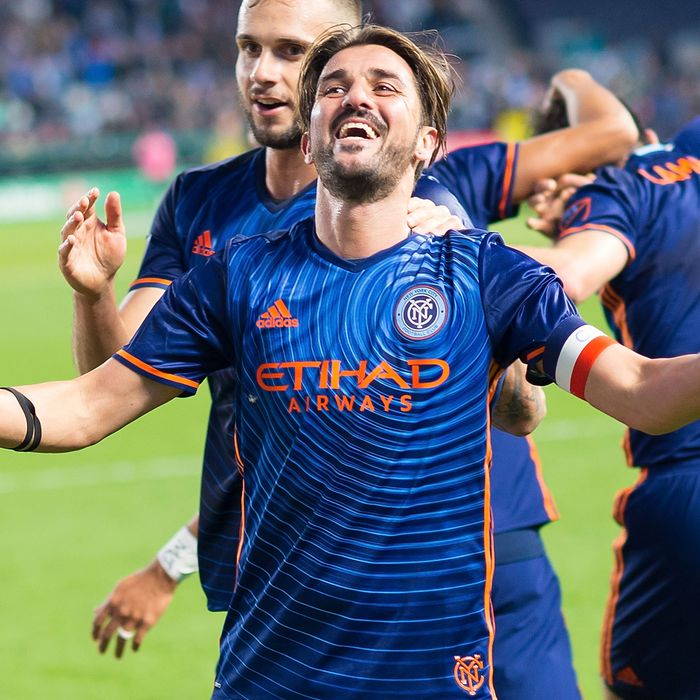fd03ef5aa NYCFC Rolls Into Playoff Debut With Its Biggest Star Primed to Shine