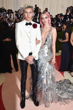 Lucky Blue and Pyper America Smith at the Met Gala.
