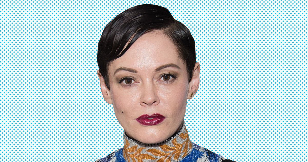 rose mcgowan shocking dress