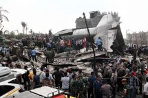 Indonesian military plane crash
